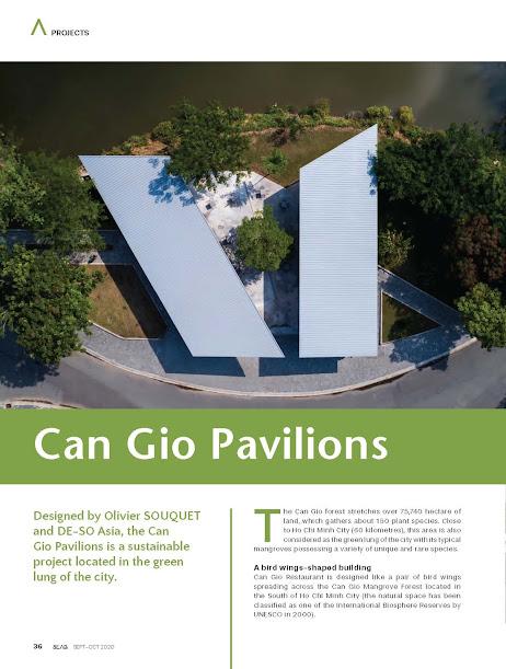 Công trình Cangio Pavilions trên tạp chí SAEB 10-2020