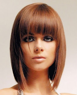 Short Layered A-Line Bob