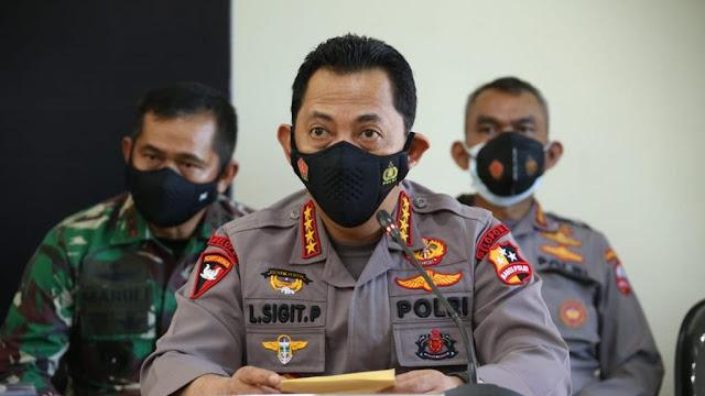 Kerahkan Kekuatan Terbaik, Kapolri Dirikan 2 Posko Evakuasi KRI Nanggala 402