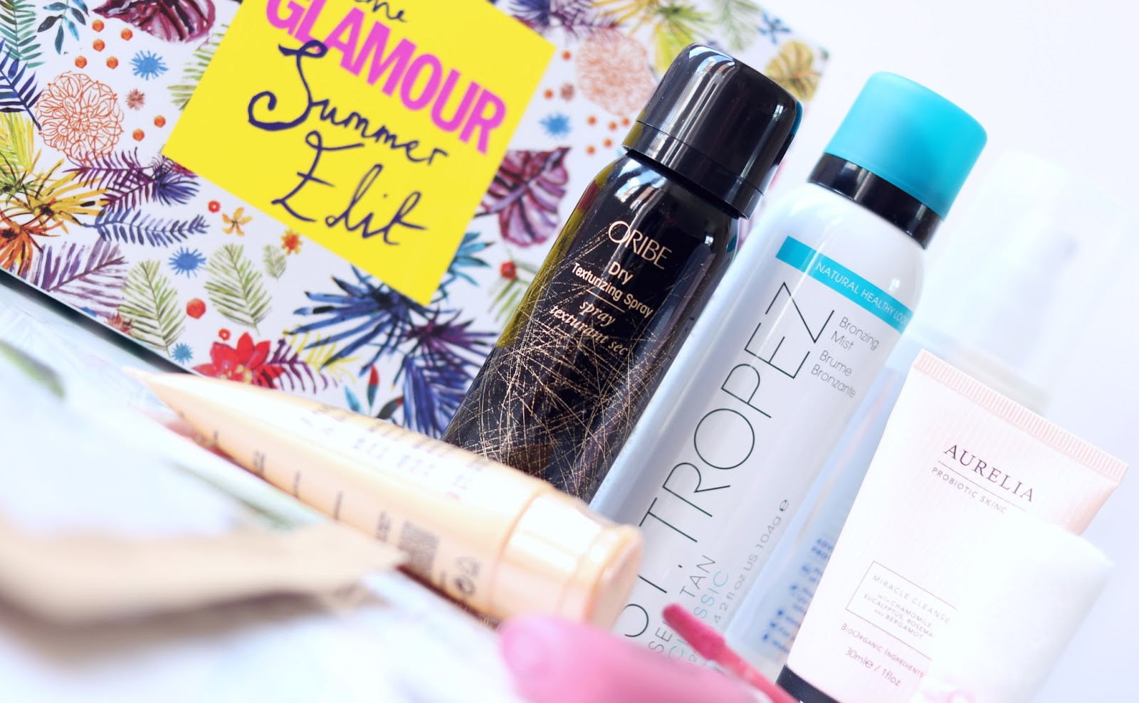Latest in Beauty's GLAMOUR Summer Edit Beauty Box