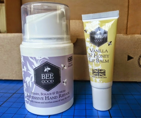 Bee Good Intensive Hand Cream and Vanilla & Honey Lip Balm Review