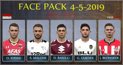 PES 2017 Facepack 4-5-2019 by Mo Ha