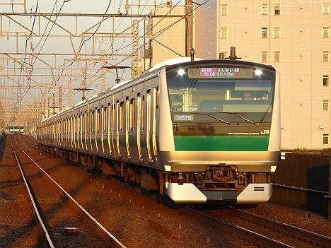 りんかい線 埼京線直通 通勤快速 川越行き2 E233系