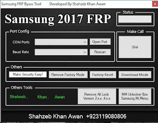 Samsung Frp Bypass Helper Tool By Shahzeb Khan Awan