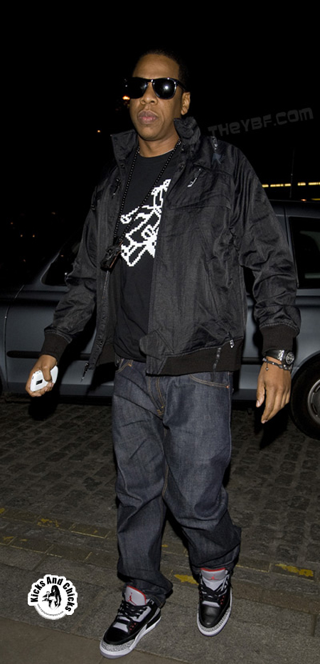 50e508e48ba2 Jay Z image All About Air Jordan 3 Cement 3 Sneakers