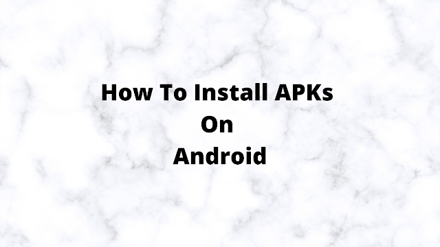 How to Install or Uninstall an Apk File