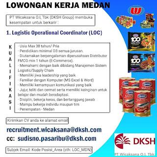 Operational Coordinator di PT Wicaksana O.I Tbk