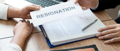Contoh Surat Resign Simple (Notis 24 Jam & Sebulan)