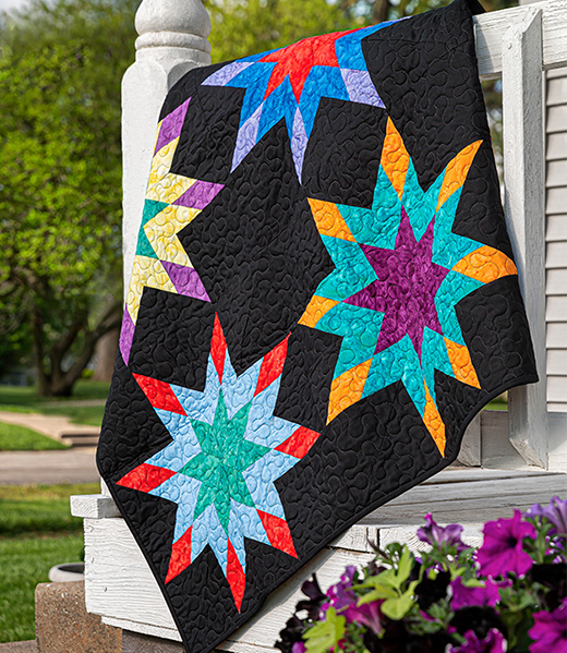 Morning Star Quilt designed by Jenny of Missouri Quilt Co