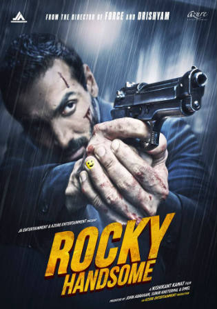 Poster of Rocky Handsome Full Movie Download Hindi DVDScr Hd 720p