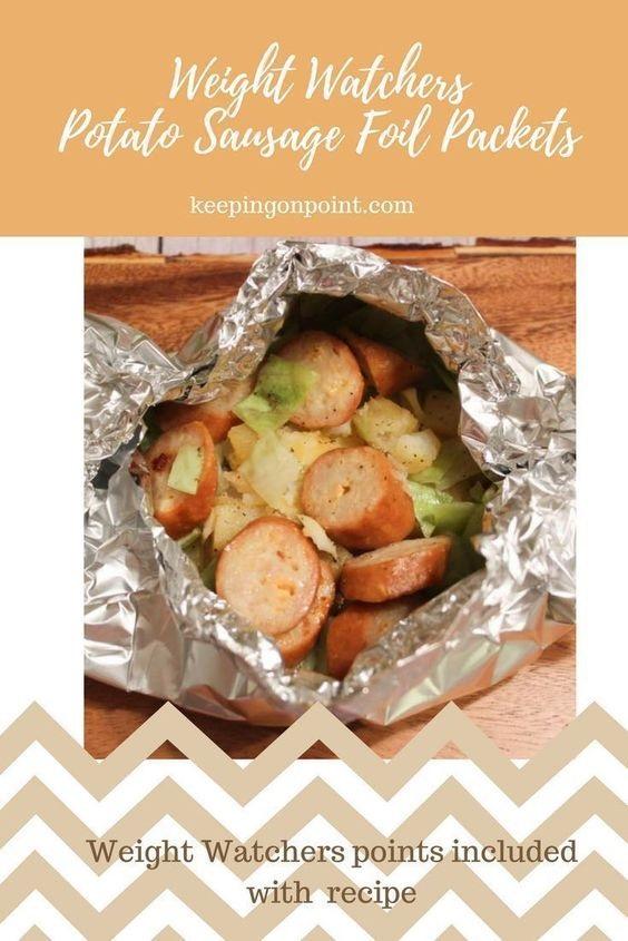 Potato & Sausage Foil Packets – Weight Watchers