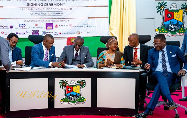 Lagos makes history, raises N100b bond to finance infrastructure