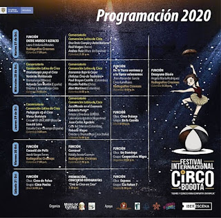Festival Internacional de Circo Bogota 2020