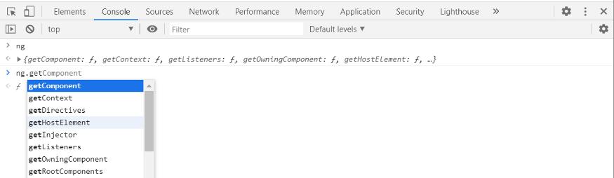 Starting Debugging API in Angular 9