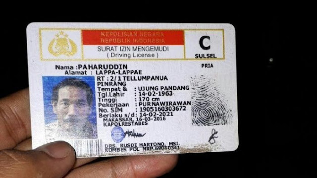 SIM Paharuddin.