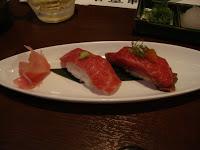 Sushi di manzo di Kobe