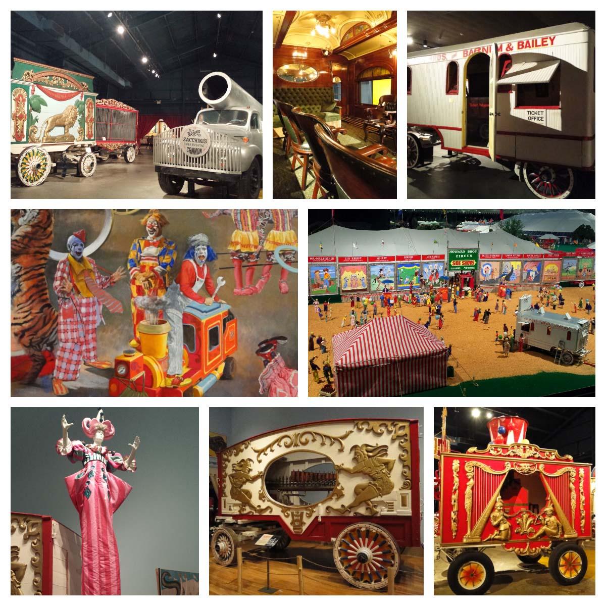 Museu do Circo John Ringling, Sarasota, EUA.