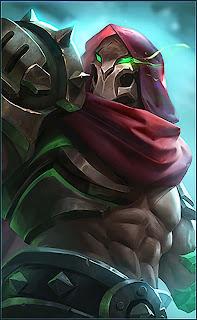 Aldous Red Mantle Heroes Fighter of Skins V3