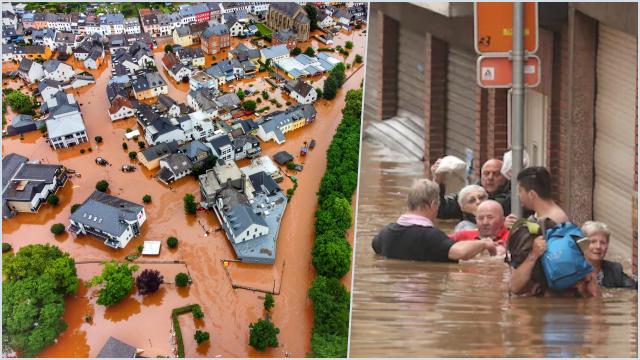 Eropa Barat Dilanda Banjir Bandang, 44 Orang Meninggal dan Puluhan Hilang