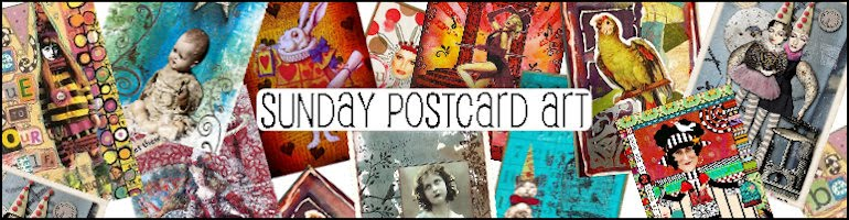 Sunday Postcard Art