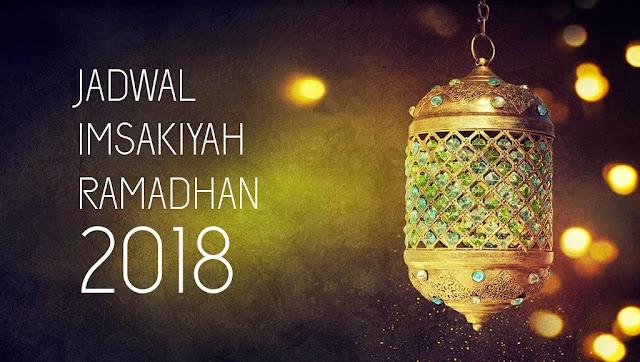 Jadwal Imsak, Sahur, dan Buka Puasa 2018 di Wilayah Sukabumi
