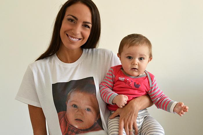 maglietta personalizzata photosi