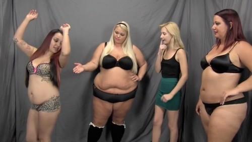 Mulher ganha vida sendo esmagada por gordas