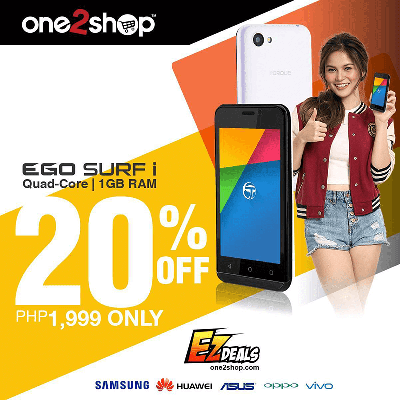 Torque's EGO Surf i With 1 GB RAM Is PHP 1999 For Two Days