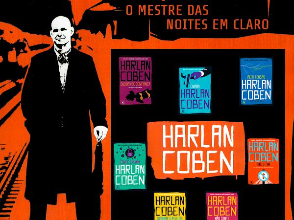 Novo visual dos livros de Harlan Coben pela Editora Arqueiro