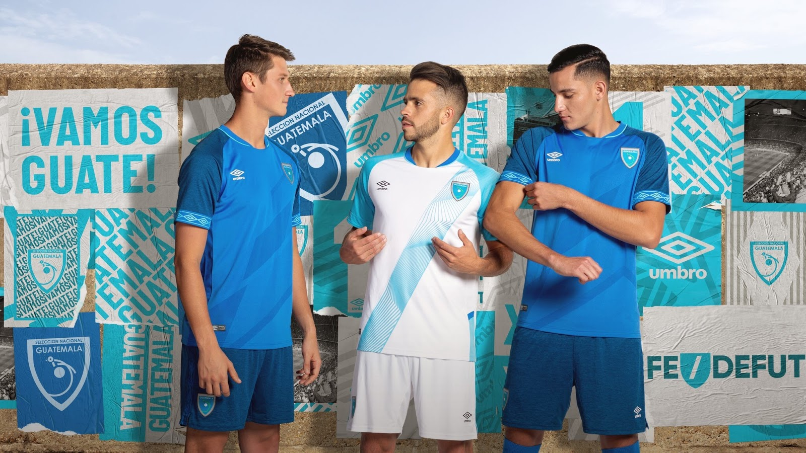 e48a11023f3 The new Guatemala kits for the 2019 CONCACAF Gold Cup have been revealed  yesterday night. Made by long-term supplier Umbro, they introduce bespoke  designs ...