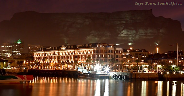 Cape Town on New Year's Eve