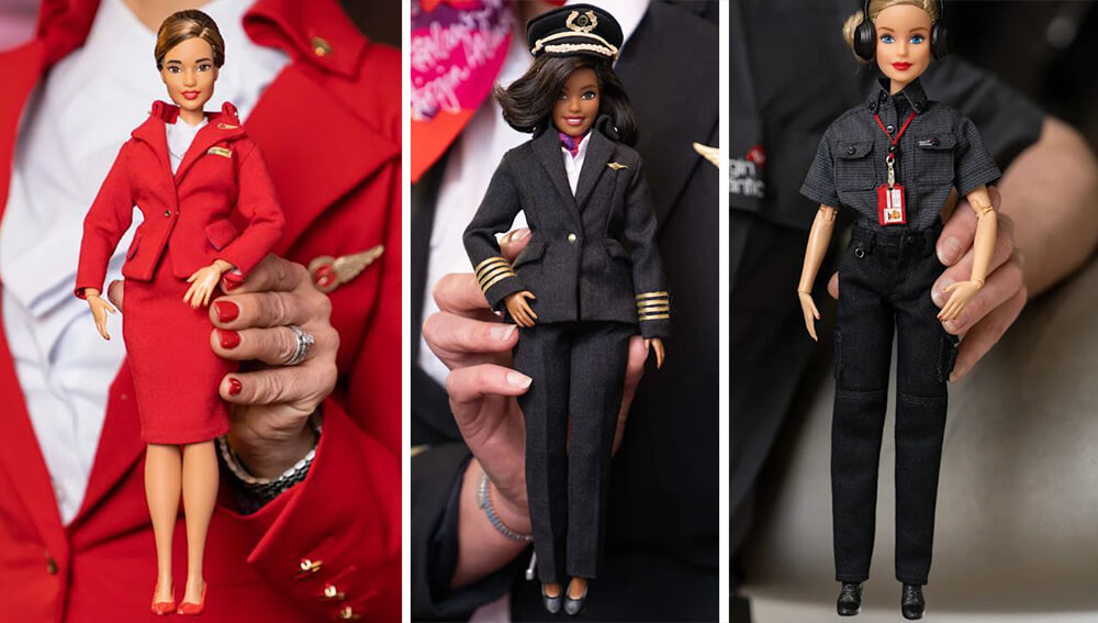 Куклы Barbie Virgin Atlantic