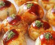 Resep internasional takoyaki khas Jepang spesial (istimewa) praktis mudah sedap, gurih, enak, lezat nikmat