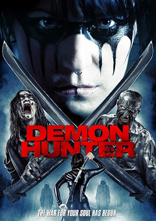Poster Of Demon Hunter In Dual Audio Hindi English 300MB Compressed Small Size Pc Movie Free Download Only At worldfree4u.com