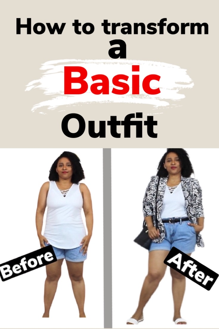HOW TO TRANSFORM A BASIC OUTFIT