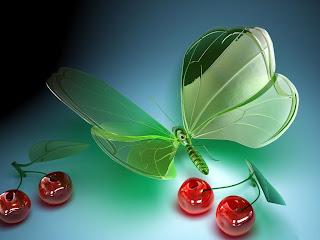 walpaper kelebek ve kiraz 3d kelebek ve kiraz resimleri ara bul
