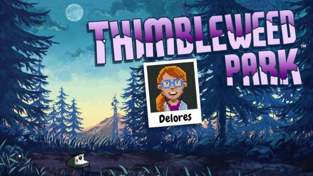 Δωρεάν το  Delores: A Thimbleweed Park mini-adventure