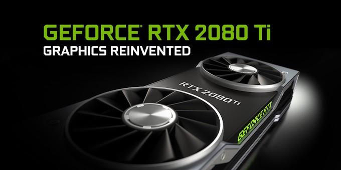 Sorteio: Placa de video NVIDIA GeForce RTX 2080 Ti