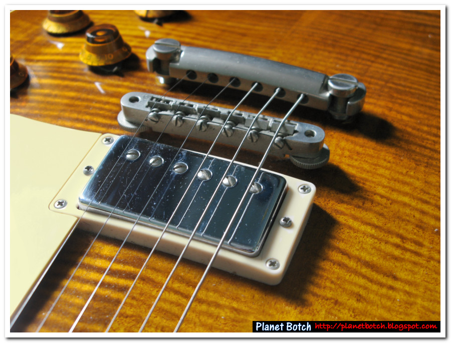 Seymour Duncan Custom Custom humbucker in Gibson Les Paul