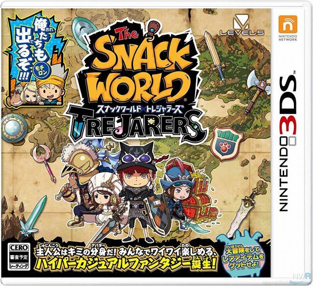 Snack World: The TreJarers (JPN) 3DS ROM