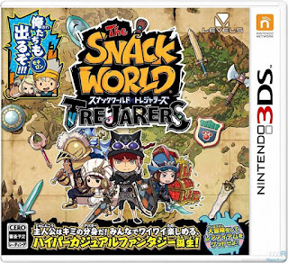 The Snack World TreJarers 3DS ROM Cia - isoroms com