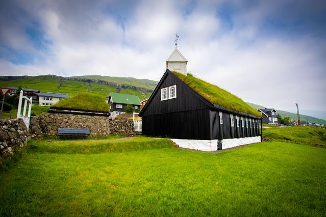 Kollafjarðar kirkja-Chiesa-Church-Kollafjørður