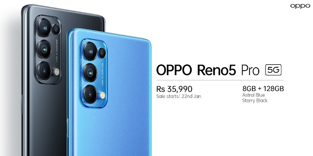 Oppo Reno 5 Pro 5G Launched along with Oppo Enco X Wireless Earphones: Check Features, Specifications, and Price | TechNeg