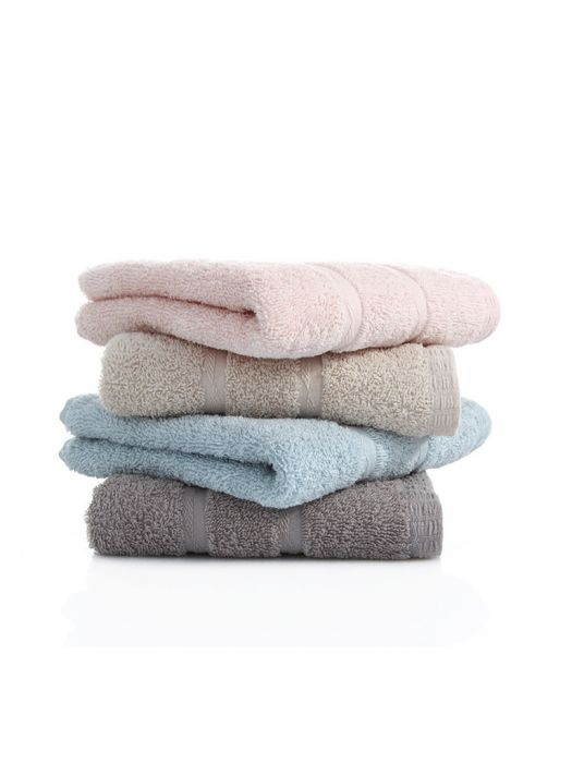 $9.50 / €8.16 Shipped for 4PCS 30 x 70cm Cotton Towels Set