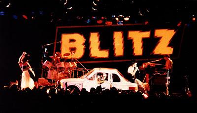A banda Blitz no palco - Divulgação