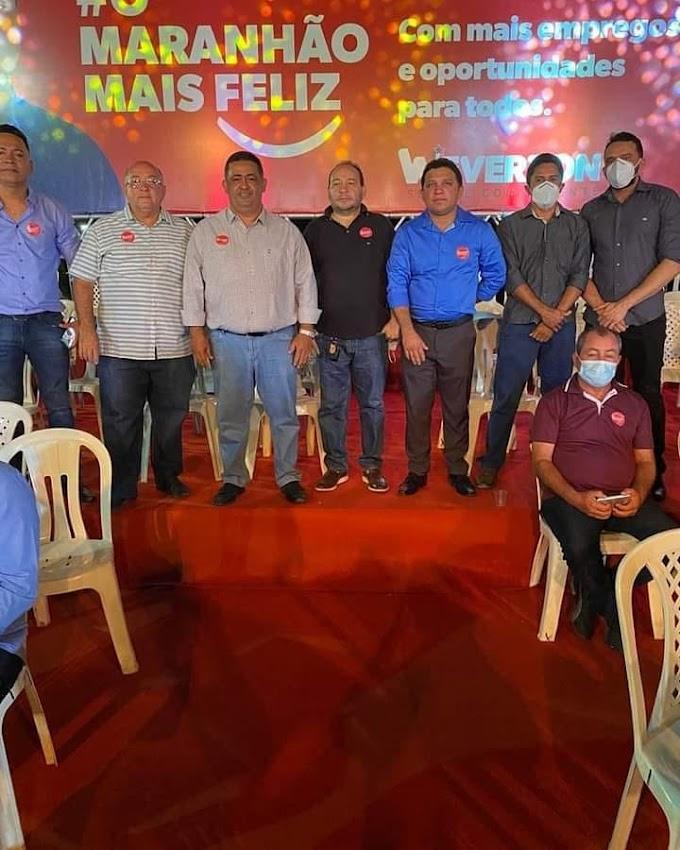 Sobre o Pré Lançamento da Pré Canditura do Senador Weverton Rocha ao governo do Maranhão.