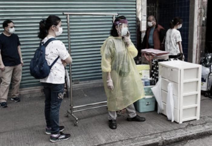 Penyebaran Virus Corona di Hong Kong Makin Parah, Pertemuan Publik dibatasi dari Maksimal 4 Orang Menjadi Hanya 2 Orang Saja