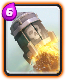 Carta Foguete (Rocket) de Clash Royale - Wiki da Carta