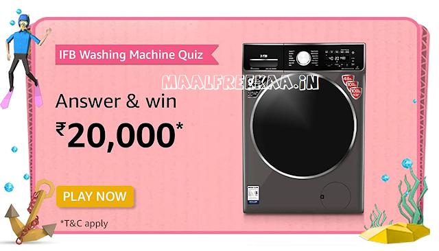 Prime Day IFB Washin Machine Contest