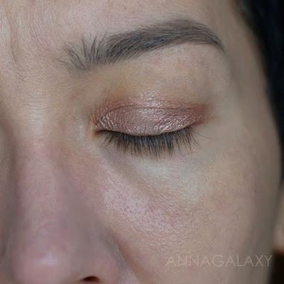 Как смотрится на веке Жидкие тени для век Luxvisage Liquid Metal Hype eyeshadow 4